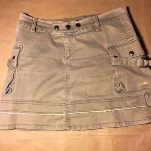 Allen b khaki skirt